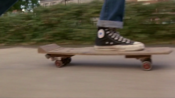 The Back to the Future skateboard scene - you know, one of the best scenes...ever.